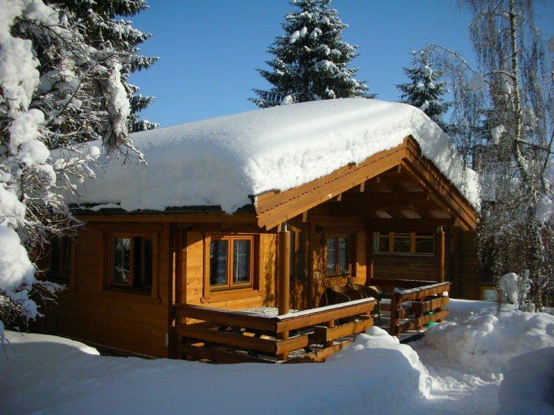 Ferienhaus oder Ferienwohnung Gartenblick im Gartenhotel Rosenhof bei Kitzbühel, holiday rental in Kirchdorf in Tirol
