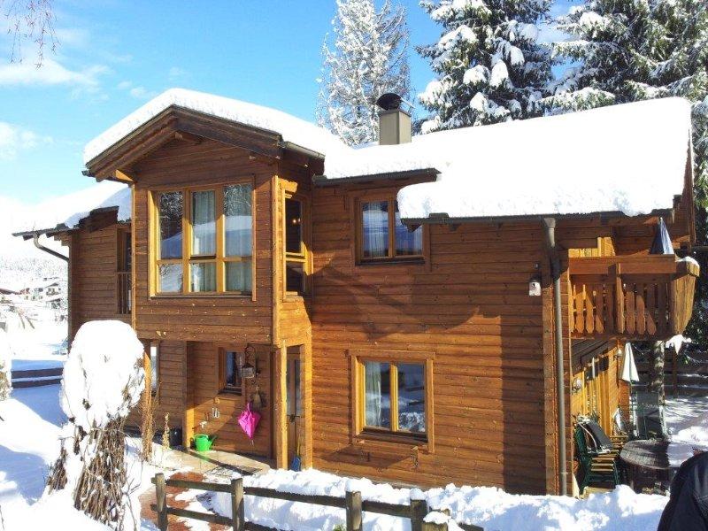 Chalet 'Villa Rosa' im Gartenhotel Rosenhof bei Kitzbühel, holiday rental in Kirchdorf in Tirol