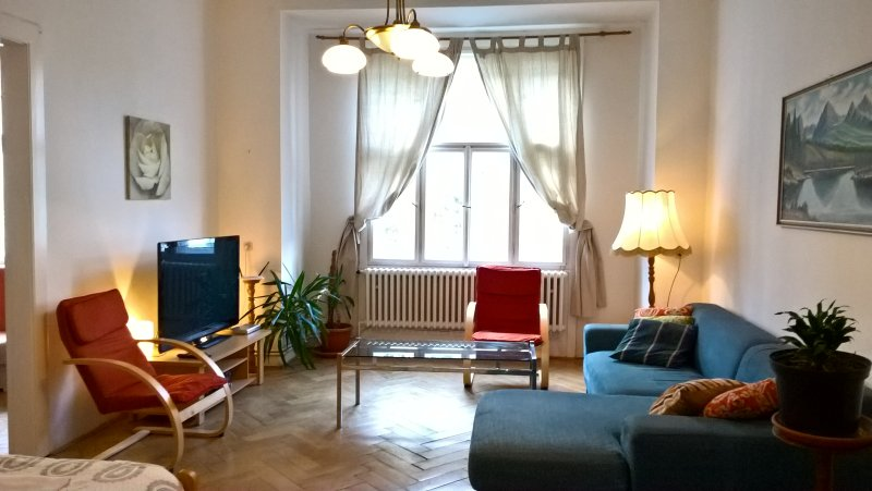 M3 Apartment large 3BR great location near center, vacation rental in Prague
