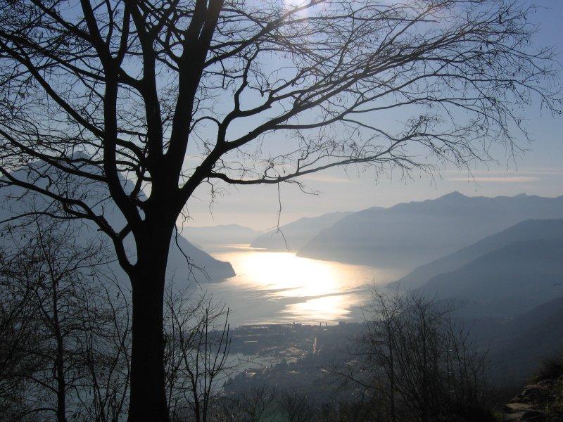 Vue sur le lac Iseo