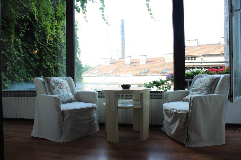 Green house apartment in Skadarlija, holiday rental in Belgrade