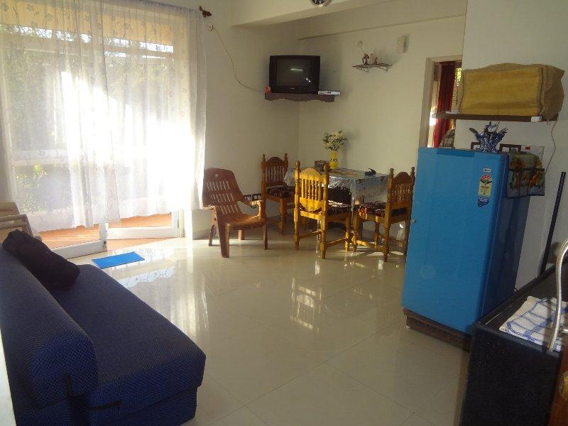TripThrill Golden Sands 1 Bedroom Apartments 4, location de vacances à Benaulim
