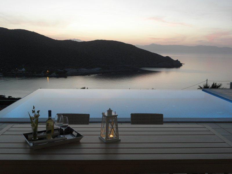 Villa Tholos Crete, location de vacances à Mokhlos