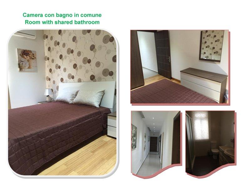 Camera Matrimoniale Bagno in comune e Balcone, aluguéis de temporada em Il Gzira