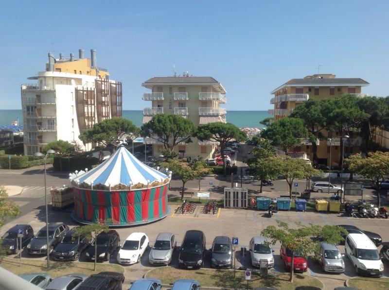 appartamento vista mare ideale per i bambini, alquiler de vacaciones en Jesolo