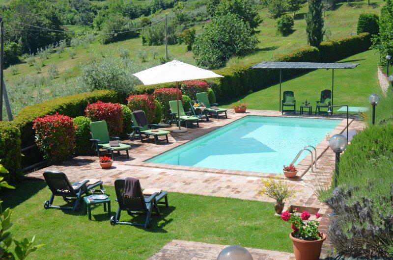 Casa Baiocco //  Private Tuscan Villa With Swimming Pool, Ferienwohnung in Chiusi