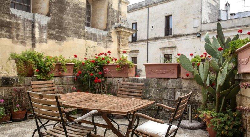 Splendido terrazzino dell'appartamento 'Idomeneo'