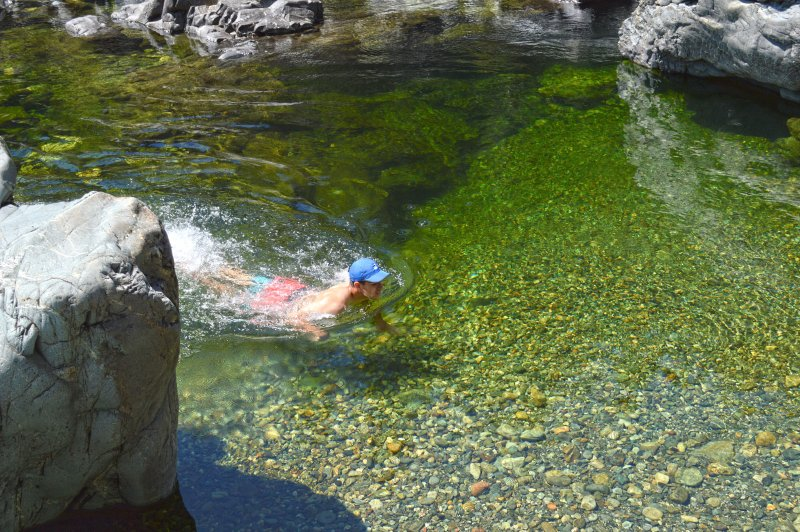 Sooke River Potholes is a great place to swim and picnic. Just 10 minutes from the Townhouse.