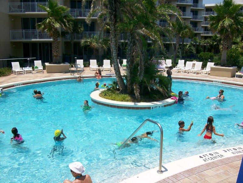 Heated pool
