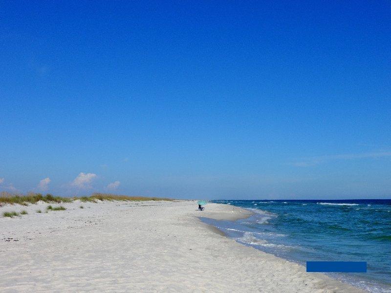 More deserted beach