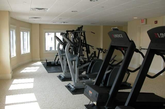 Fully equipped gym to burn off a few calories