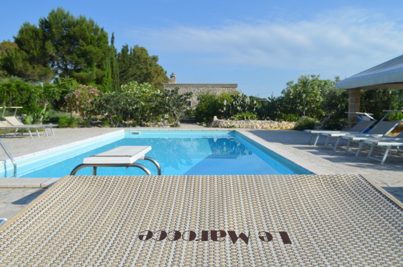 Le Marocce, 3 km to Castro, wifi, a/c private pool, holiday rental in Vaste