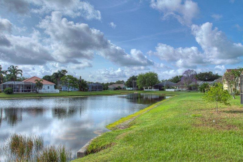 Im Freien, Teich, Wasser, Landschaft, Natur