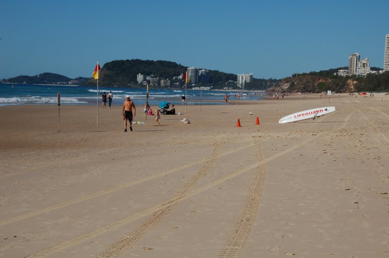 Patrolled Beach at Door