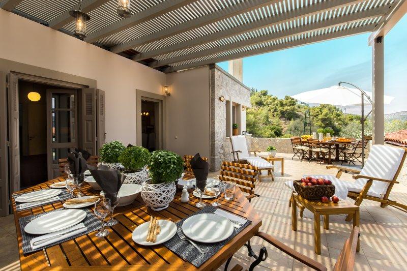 Luxury eco stay villa in Epidavros, location de vacances à Epidavros