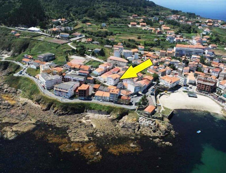 Cerca de las playas de la Ribeira y Corbeiro