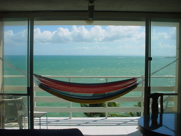 Ocean Front Apartment Has Air Conditioning And Ocean