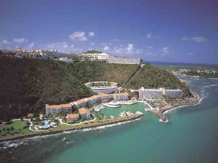 Air View of Marina Lanais and El Conquistador Hotel