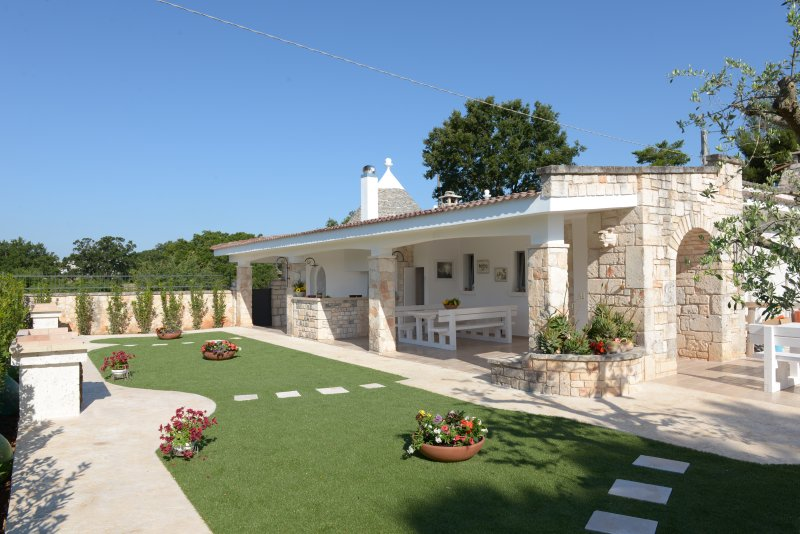 La linea dell'orizzonte- Trullo Zenith, vacation rental in Coreggia