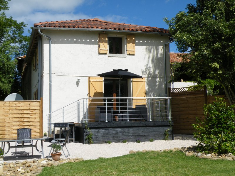 Gite Trejeau -  for two near Castelnau-Magnoac, holiday rental in Thermes-Magnoac