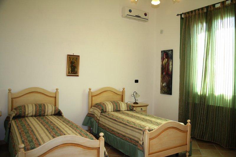 Camera da letto 'verde'