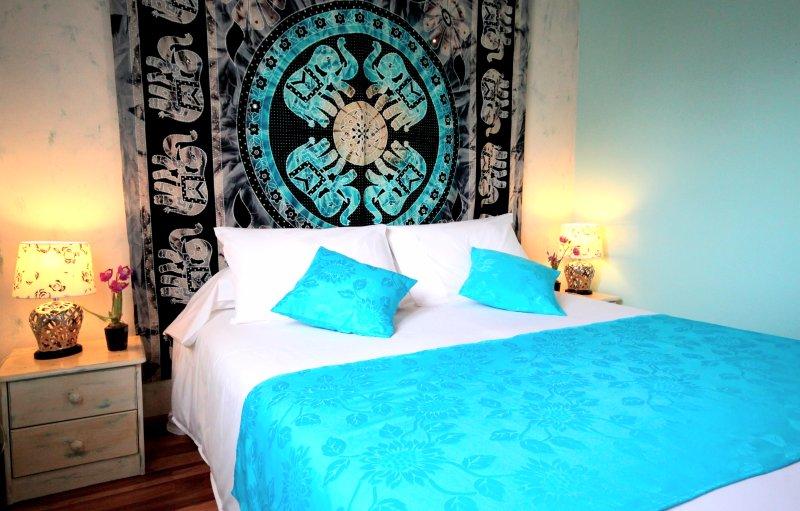 L'Oasis de Terre Rouge - Appartement Frangipanier - Chambre
