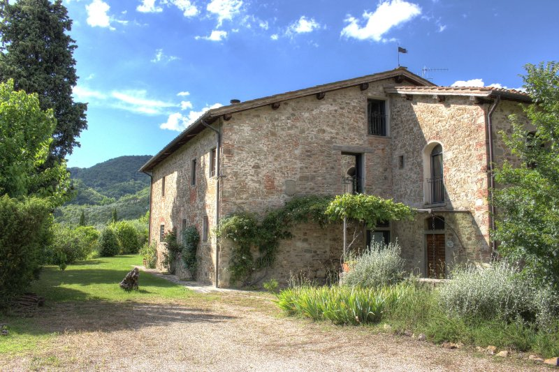 Stunning villa in in Chianti with pool, Le Rose, holiday rental in Ponte Agli Stolli