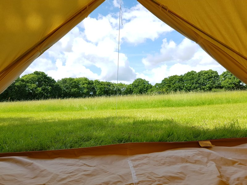 View from you tent