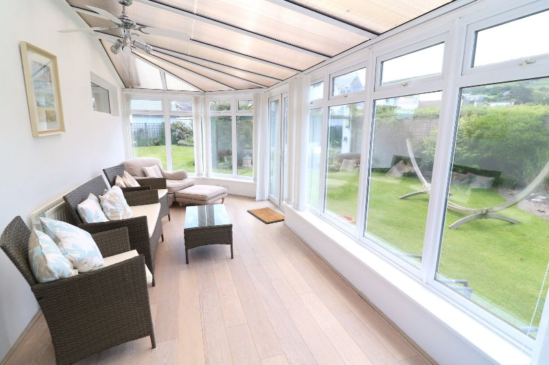 Croyde Holiday Cottages Dunes Conservatory