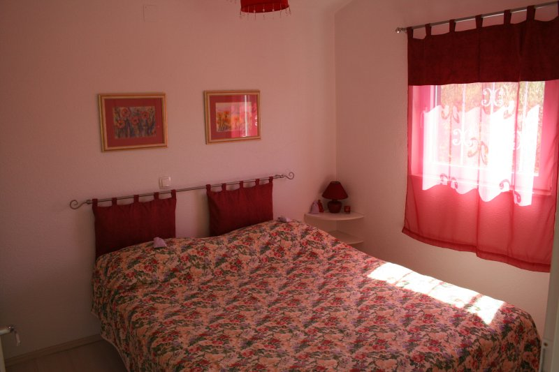 The double bed bedroom on the first floor