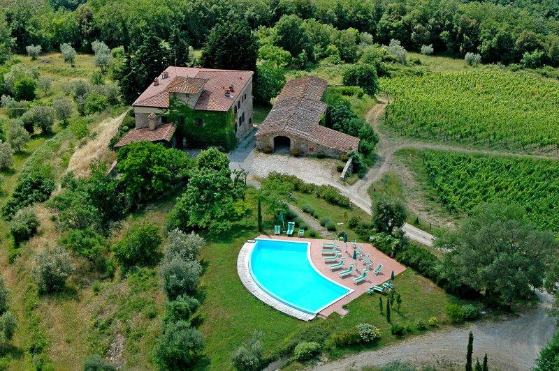 Fattoria Quercia al Poggio - Apartment Proneta 1, casa vacanza a Barberino Val d'Elsa