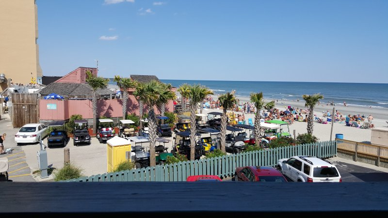 View from Balcony overlooking Ocean Annie's