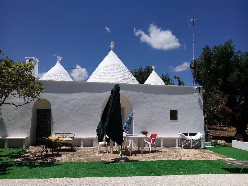 Trullo Bianco Ceglie Messapica, alquiler de vacaciones en Ceglie Messapica
