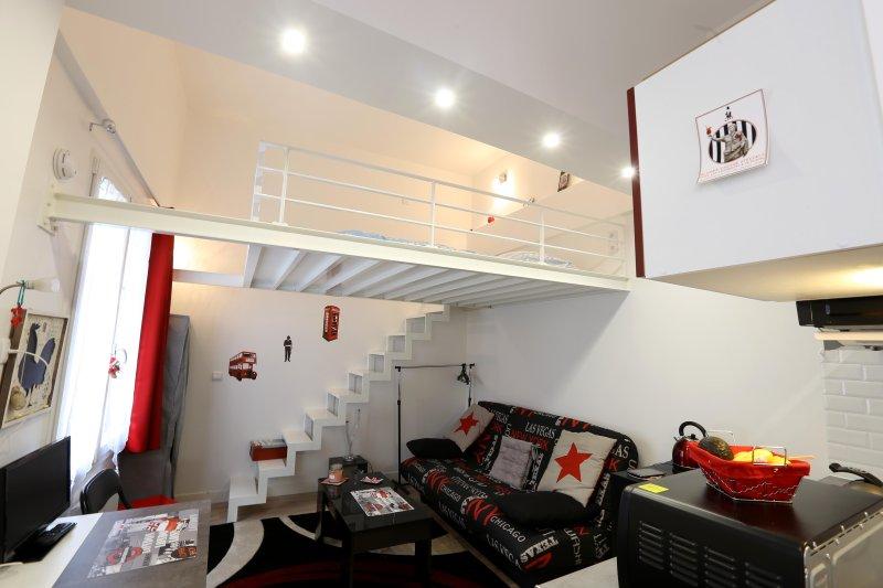 sala com mezzanine