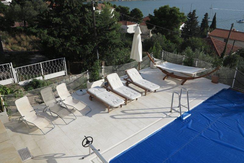 Schwimmingpoll  Terasse