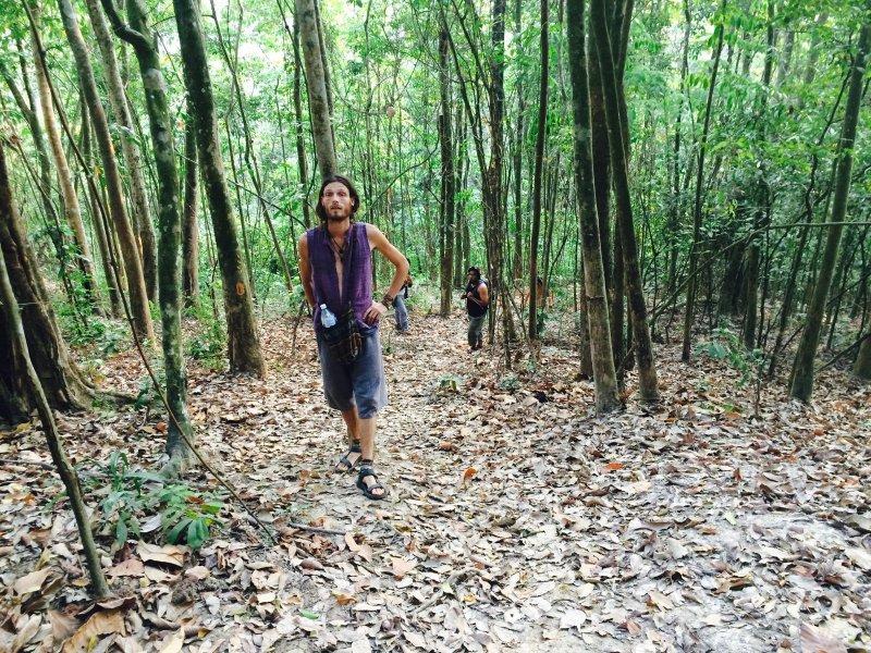 Jungle trekking with us