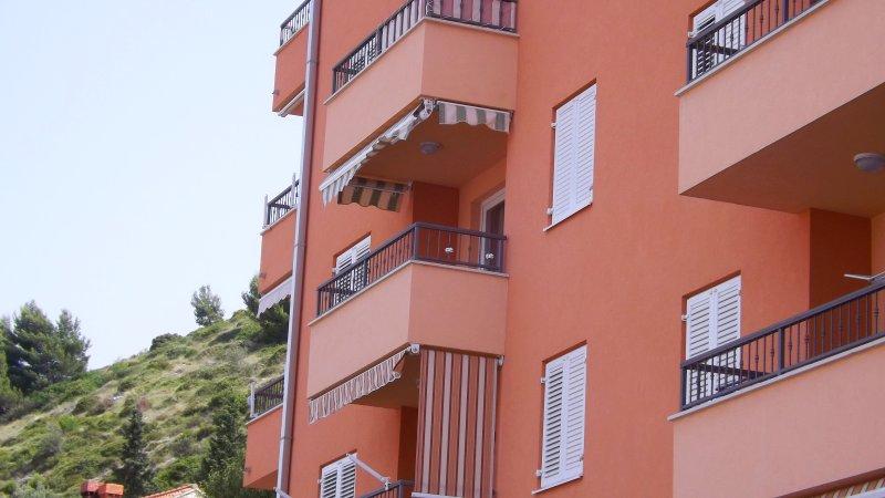 apartment balcony green shades