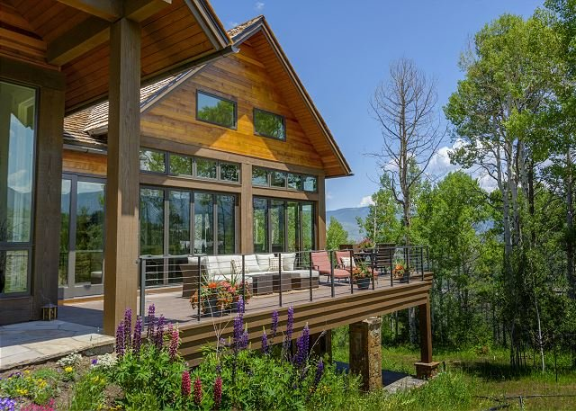 Lake Creek Exterior Deck