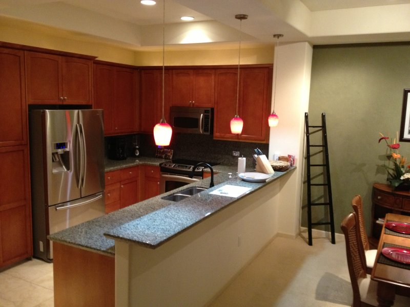 Kitchen/Partial Dining Room view