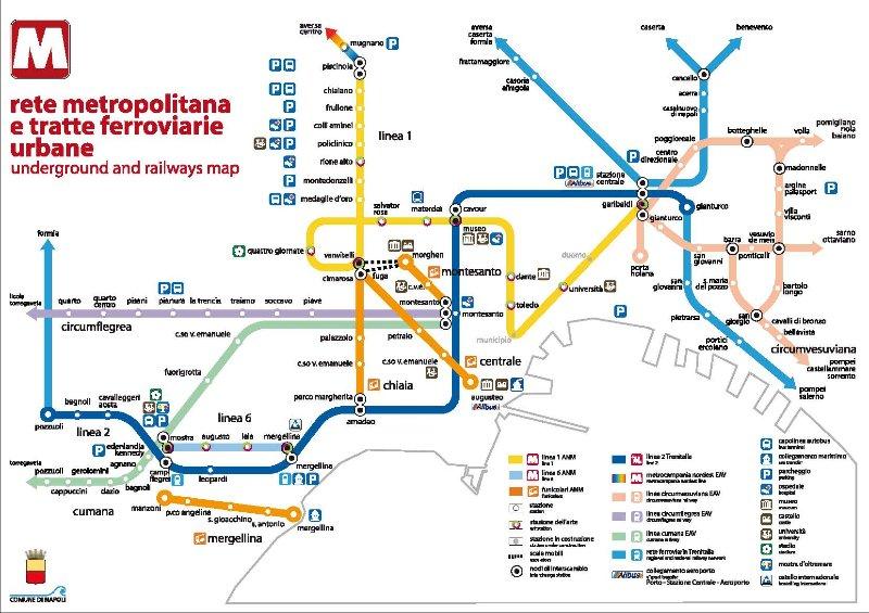 Napoli Subway Map.La Casita Toledo Nel Cuore Di Napoli Has Internet Access And
