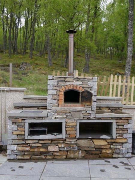 Pizza Oven e barbecue