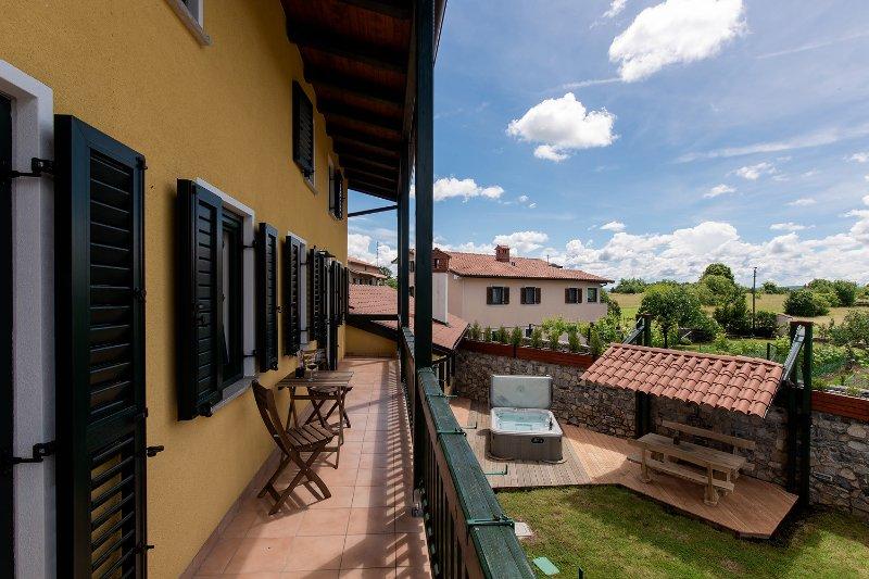 Vila Friuli Karst, vakantiewoning in Stanjel