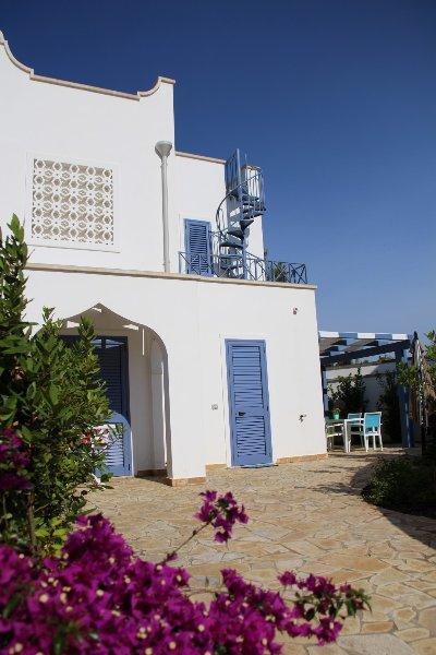 Villa a Torre Lapillo, Porto Cesareo, Salento, casa vacanza a Villaggio Boncore
