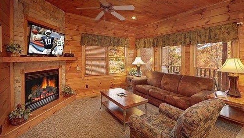 Gather with family & friends in the relaxing living room