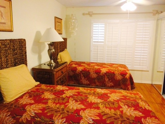 View of  3rd Guest Room with Twin Beds