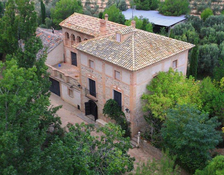 La vivienda Principal de Torre de Campos, location de vacances à Ainzon