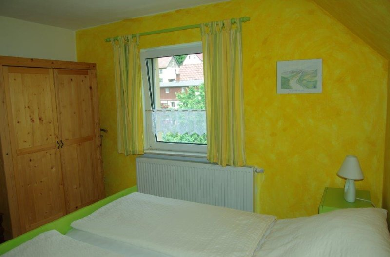 Kleines Schlafzimmer für 2 Personen