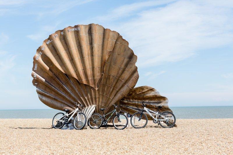 Scallop Shell Sculpture, Aldeburgh