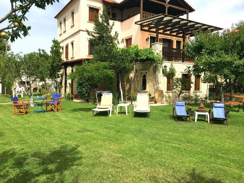Villa Maira Chalkidiki Greece, location de vacances à Afitos