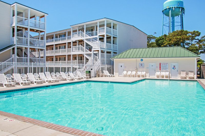 Elevate your North Carolina experience when you stay at this wonderful Oak Island vacation rental condo.